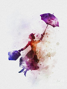225x300 Mary Poppins Art Fine Art America
