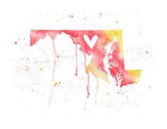 Maryland Watercolor
