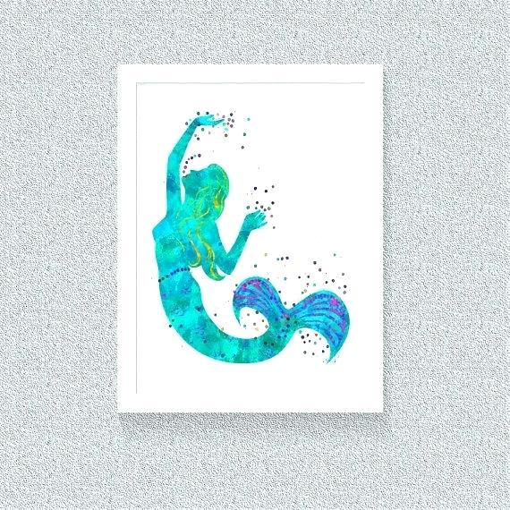 570x570 Wooden Mermaid Wall Art Mermaid Wall Art Mermaid Decor Mermaid Art