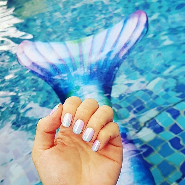 640x640 Ever Matched Your Nails To Your Mermaid Tail These Beautiful Hues