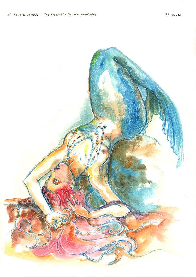 751x1063 Little Mermaid