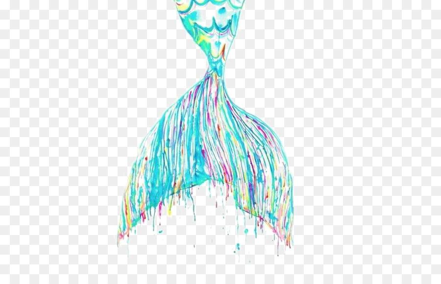 900x580 Mermaid Watercolor Painting Work Of Art