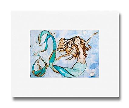 425x354 Mermaid Art