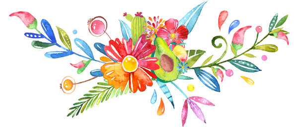 600x256 Mexican Flower Borders Clipart Free Clipart