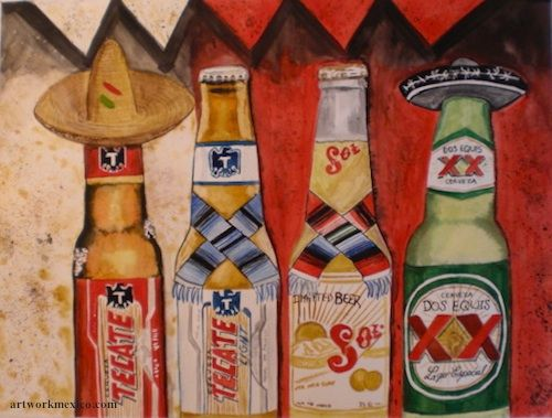 500x379 Mexican Beers