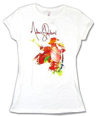 333x400 Michael Jackson Watercolor Image Girls Juniors White T Shirt New