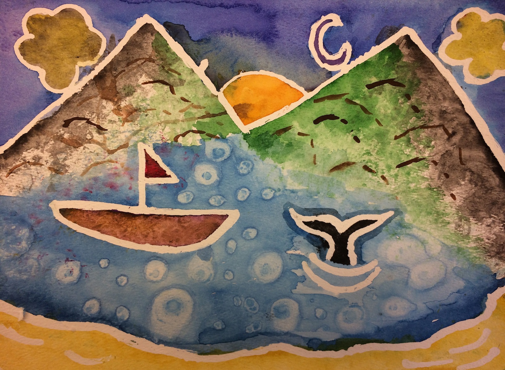 1632x1196 Middle School Watercolor Paintings Seward City News