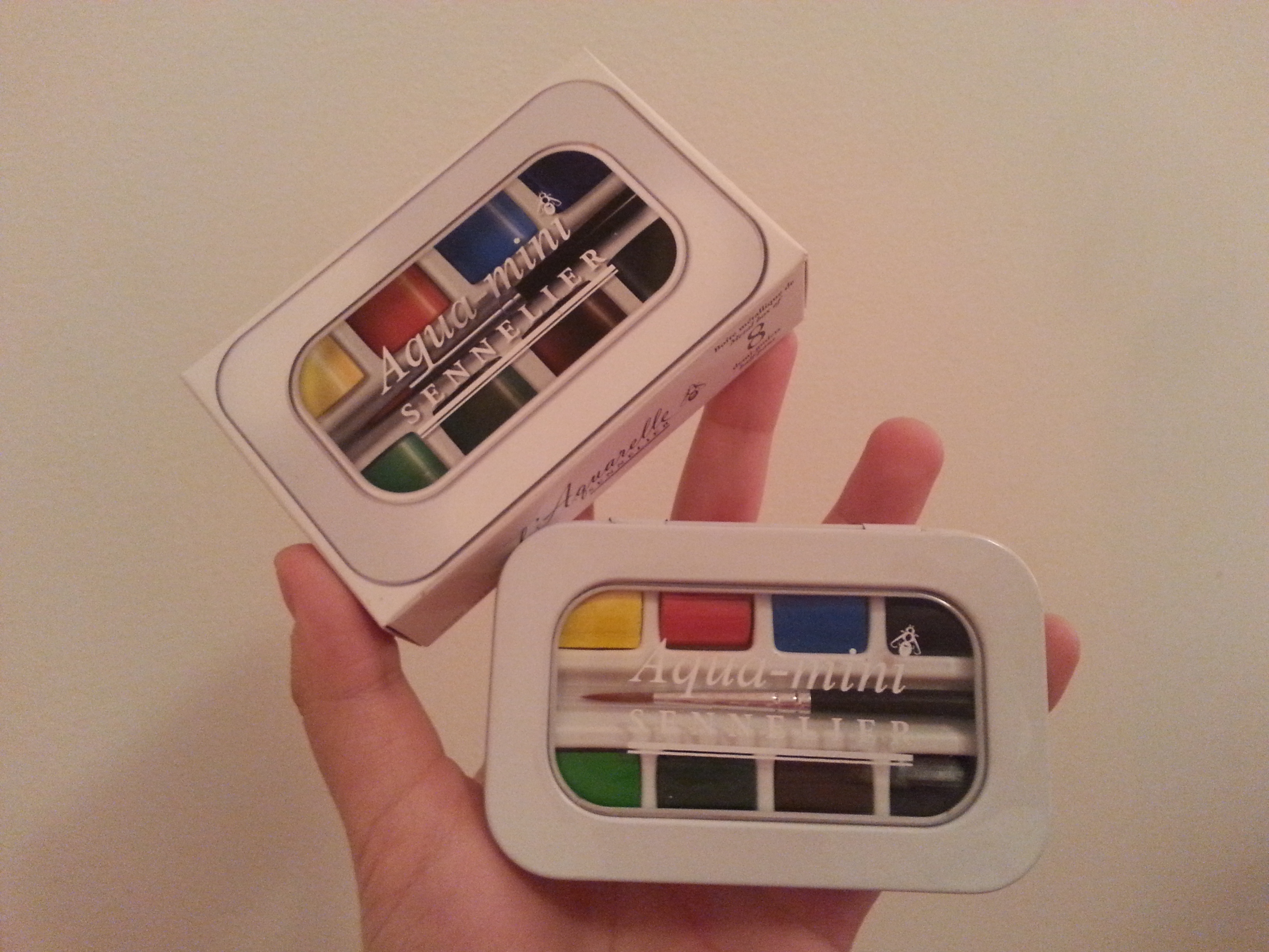 3264x2448 Review Sennelier French Watercolors Aqua Mini Set The Mind Of