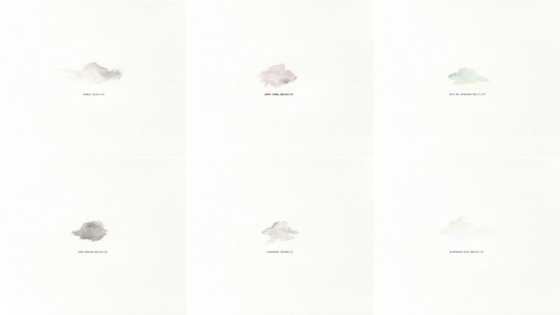 800x450 These Minimalist Watercolors Are Made From Real Drops Of Rain