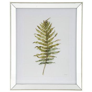 350x350 Watercolor Leaf Mirror Framed Wall Decor Hobby Lobby 1302066