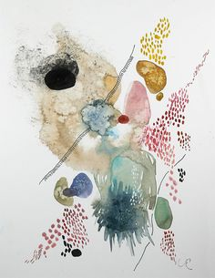 Modern Abstract Watercolor Paintings
