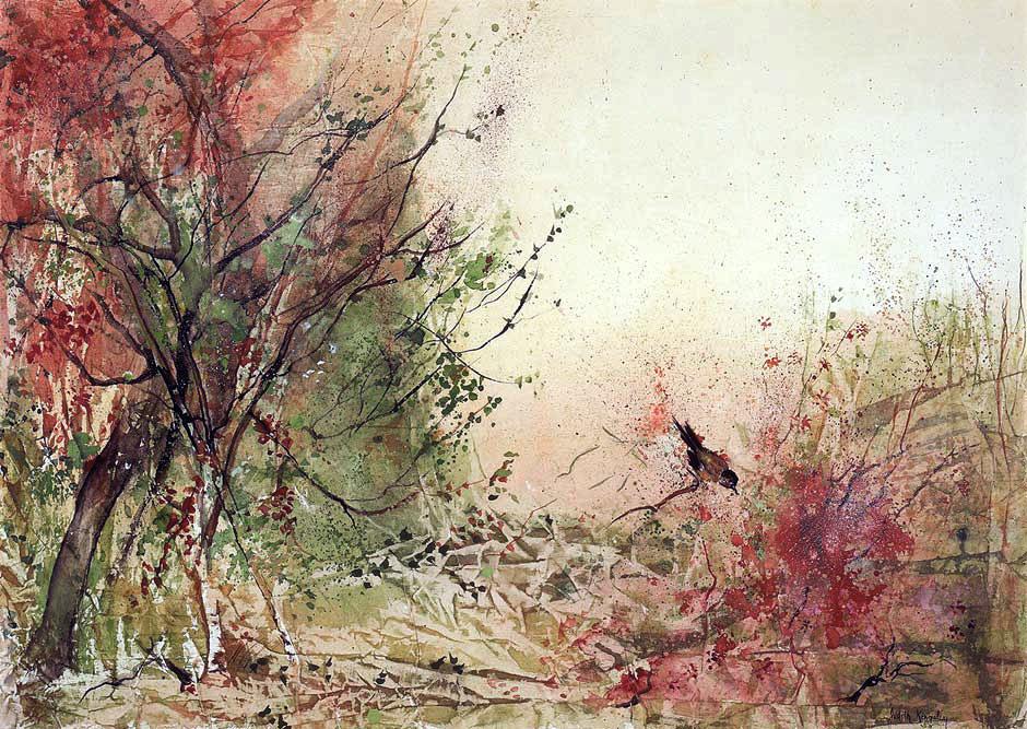 940x667 Contemporary Asian Watercolors Judith Kingsley Art