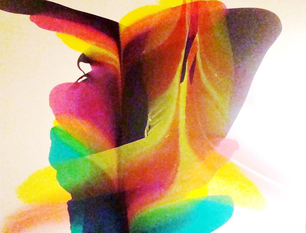 1006x768 Contemporary Modern Art Watercolor By Marvin Markman Modernism