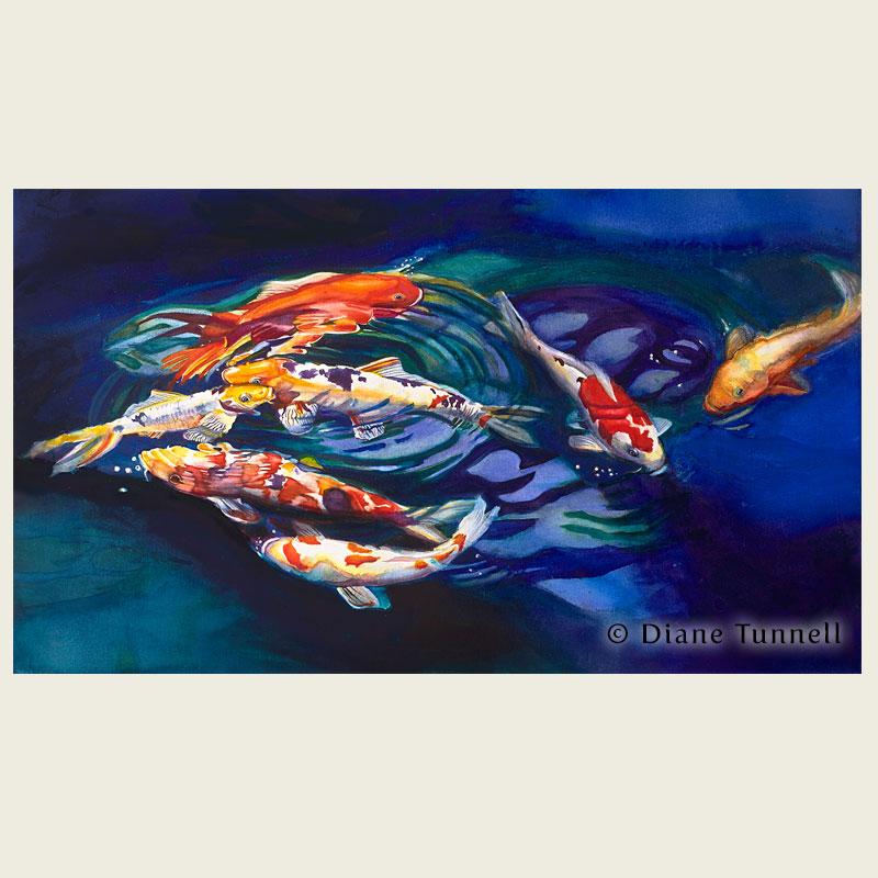 800x800 Hawaii Watercolor Artist Diane Tunnell Portfolio