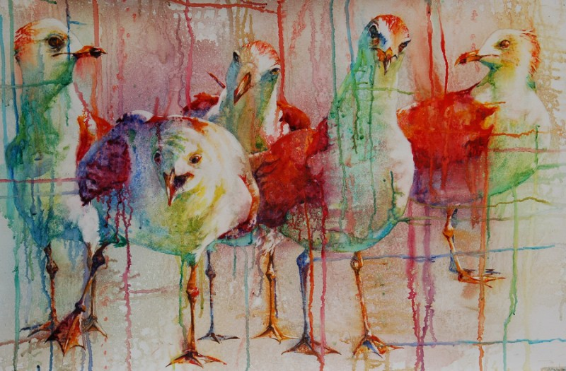 800x525 Photos Modern Watercolor Painting,