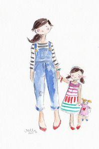199x300 588 Best Illustration Mom Amp Kids Images In 2018