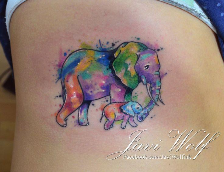 Mother Daughter Watercolor Tattoos At Getdrawings Com Free For