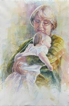 Mother Watercolor