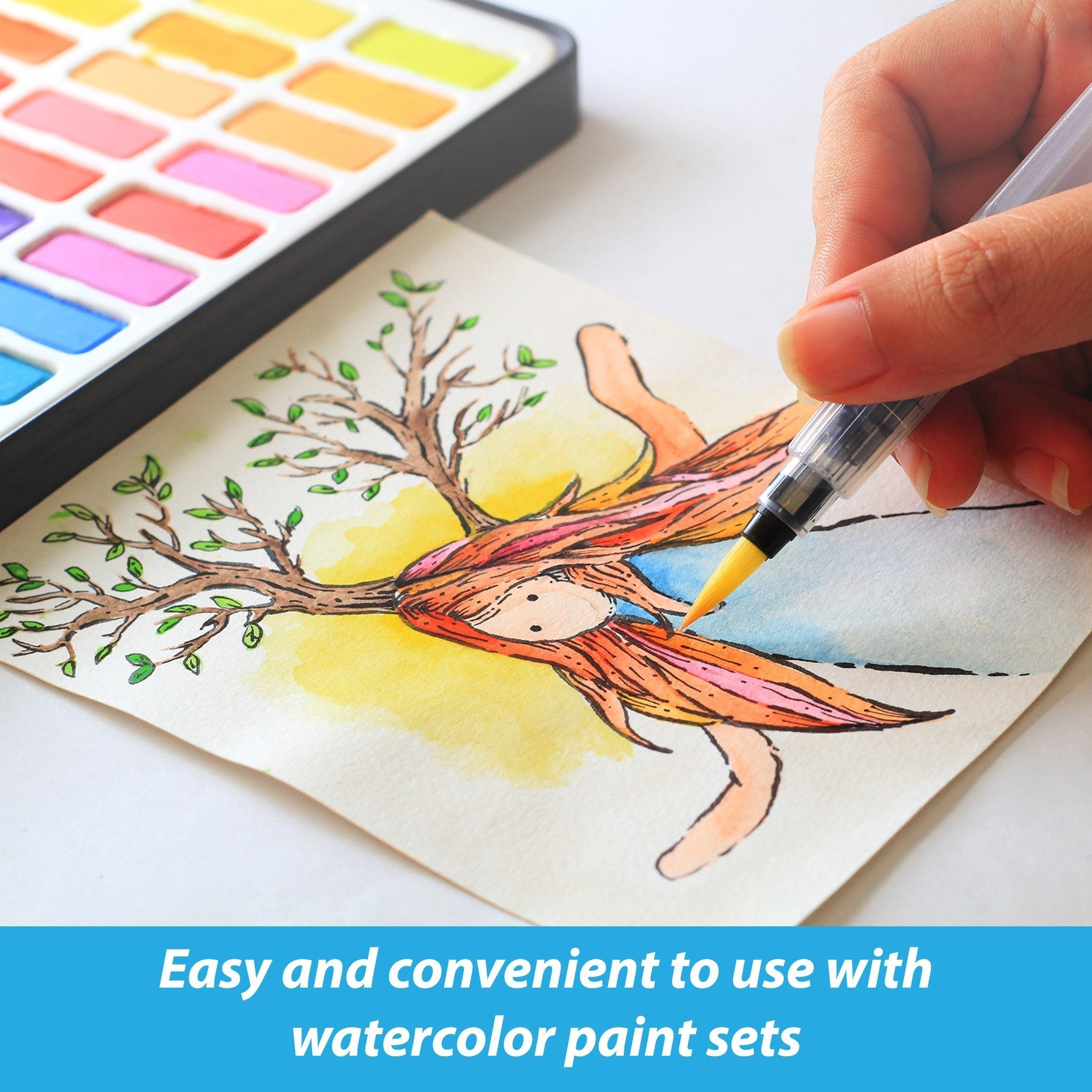 2048x2048 Water Color Book New Coloring Book With Water Pen Fresh Water