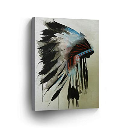 Native American Watercolor