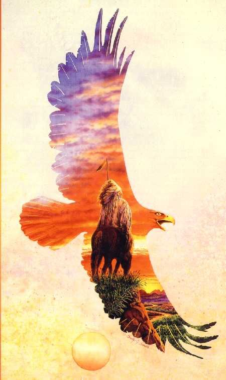 450x756 Beautiful Native American Watercolor Paintings Native American