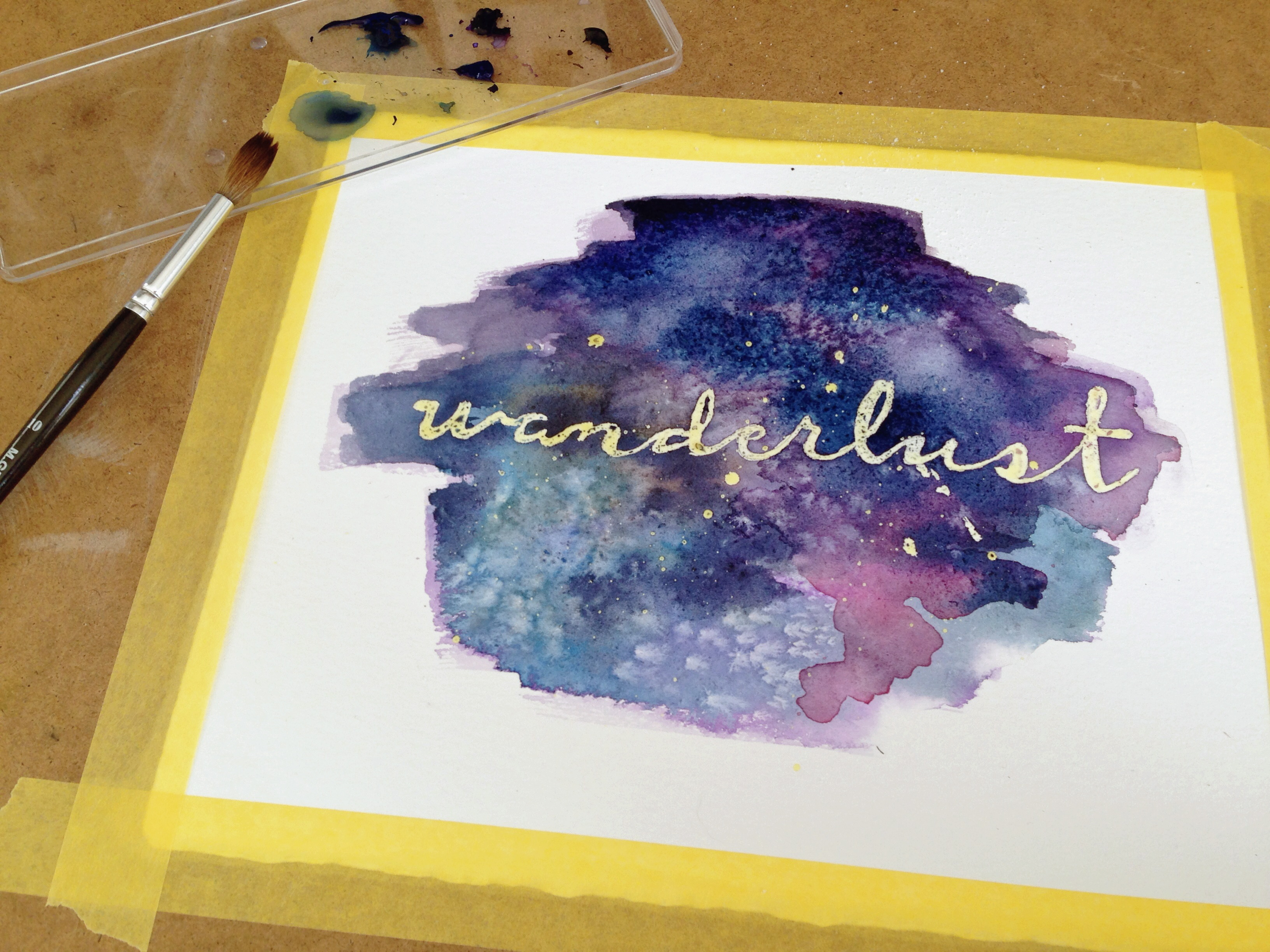 Negative Space Watercolor At Getdrawings Com Free For Personal Use