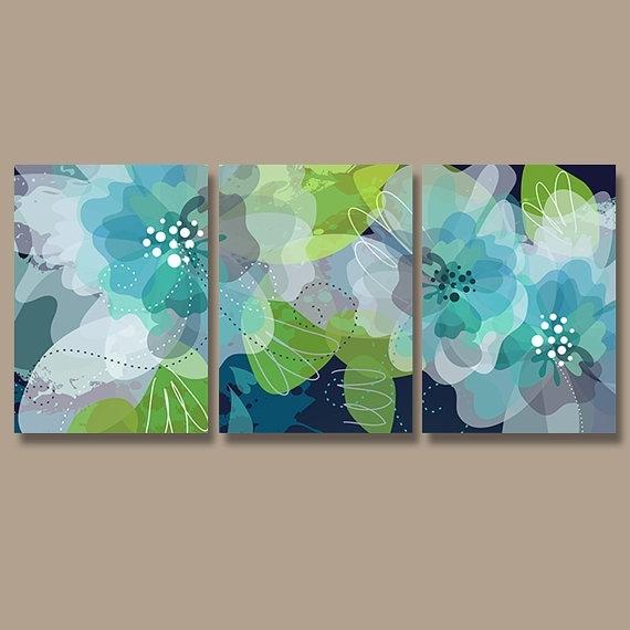 570x570 Wall Art Ideas Olive Green Abstract Wall Art (Explore
