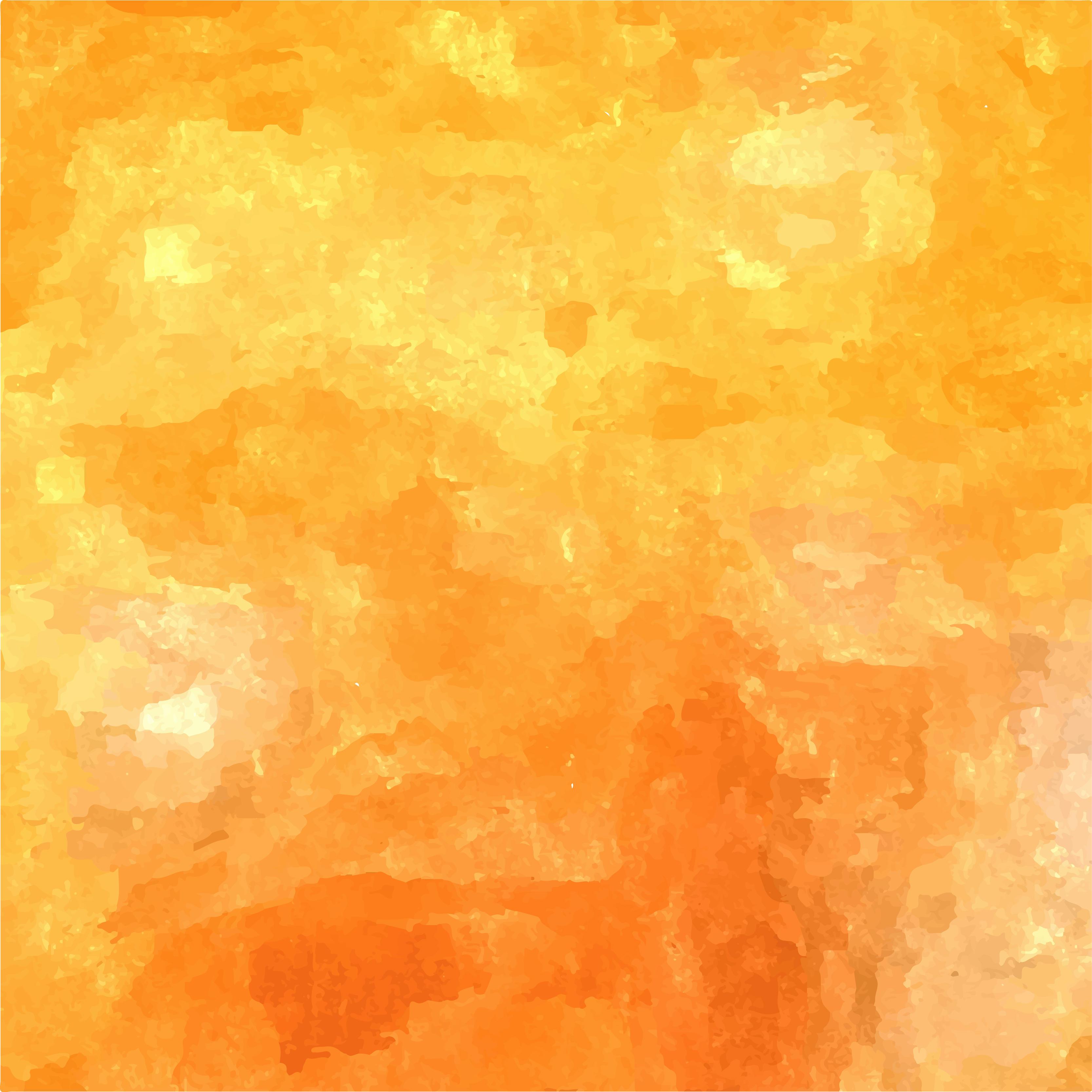 Orange Watercolor At GetDrawings