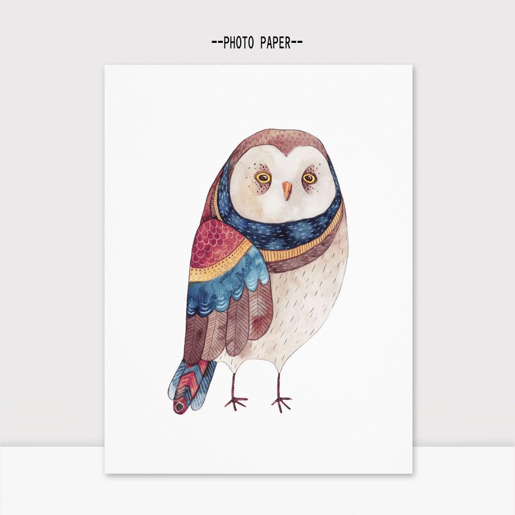 Owl Watercolor