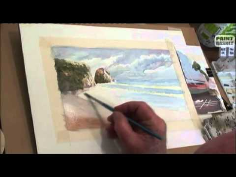 480x360 How To Paint A Seascape In Watercolor