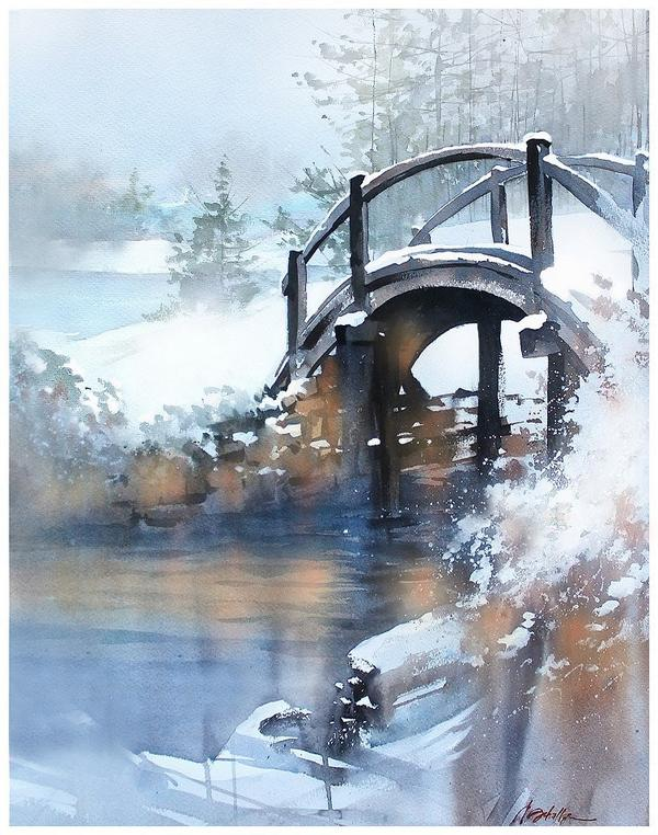 600x762 Thomas W Schaller On Twitter Winter Bridge
