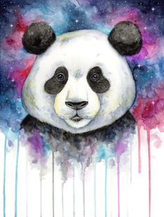 236x312 56 Best Pandi Images Watercolor Animals, Watercolor