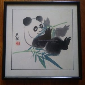 300x299 Other Panda Watercolor Painting Poshmark