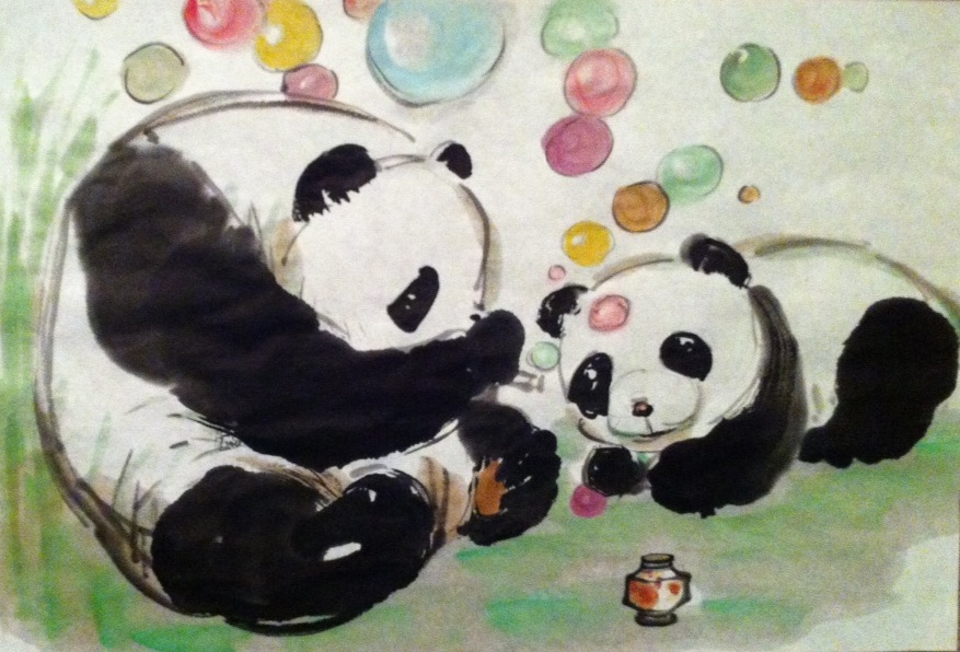877x596 Teaching Kids Chinese Watercolor Techniques Xiang Li Art