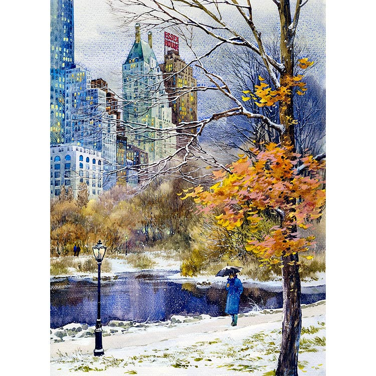 750x750 Central Park South New York Art