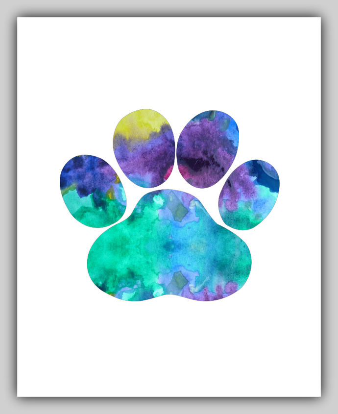 690x845 Dog Paw, Dog Paws, Paw Print, Paw Prints, By Bittenbyermines On Zibbet