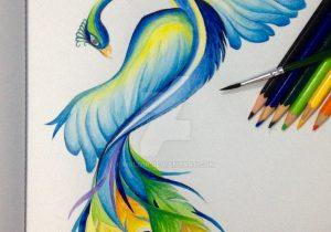 300x210 Watercolor Paintings Of Peacocks Watercolor Paintings Of Peacocks