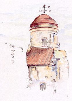 Pen And Ink Drawings With Watercolor at GetDrawings com