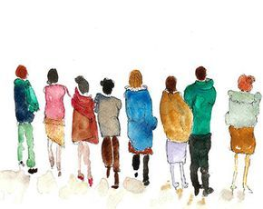 290x230 Image Result For Watercolor People Kunst