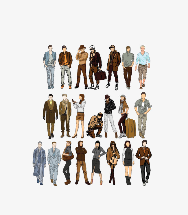650x744 Vector Color Rush People Watercolor, Color Clipart, People Clipart