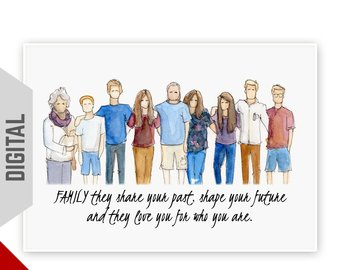 340x270 Watercolor People Etsy
