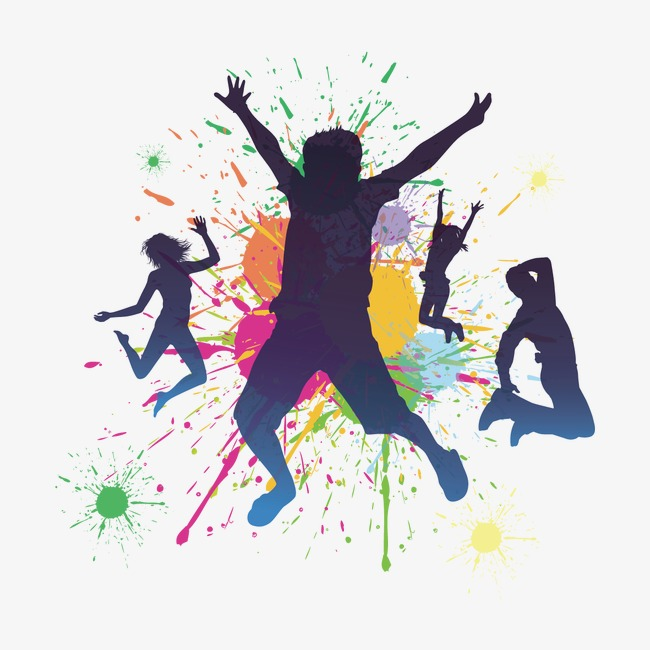 650x650 Watercolors And Dancing People, Dancing Clipart, People Clipart