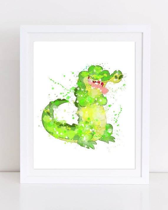 570x713 70% Peter Pan Watercolor Watercolor Disney Disney Etsy