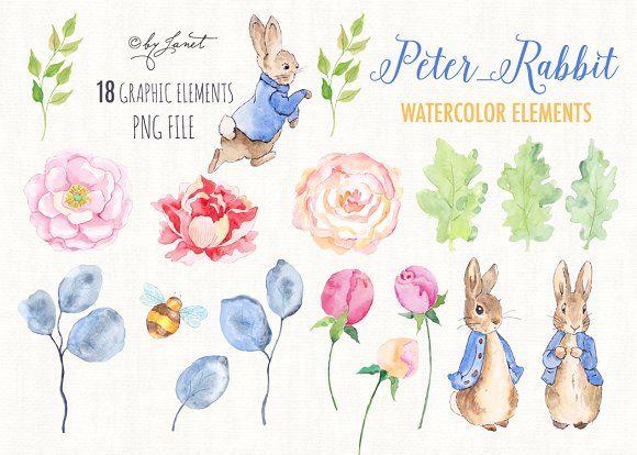 Peter Rabbit Watercolor