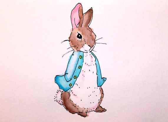 570x417 Peter Rabbit Watercolor Darling Ink Peter Rabbit