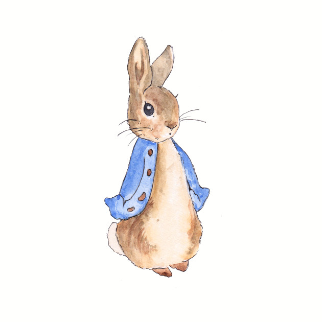 630x630 Peter Rabbit Watercolor