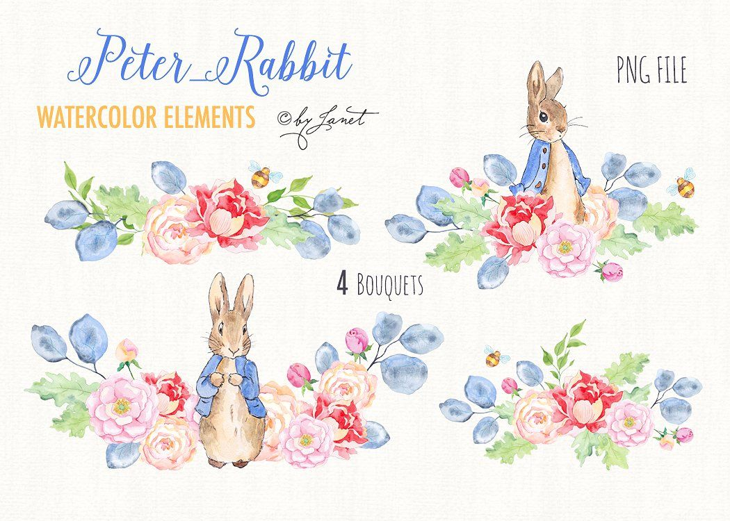 1050x750 Pin By Winnie Lee On Creativemarket Peter Rabbit