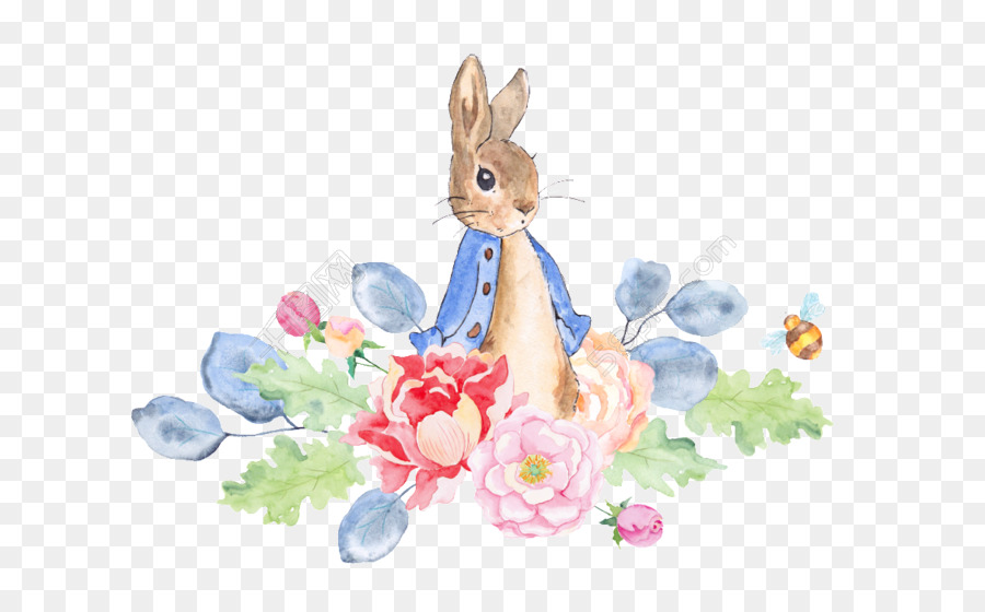 900x560 The Tale Of Peter Rabbit Watercolor Painting