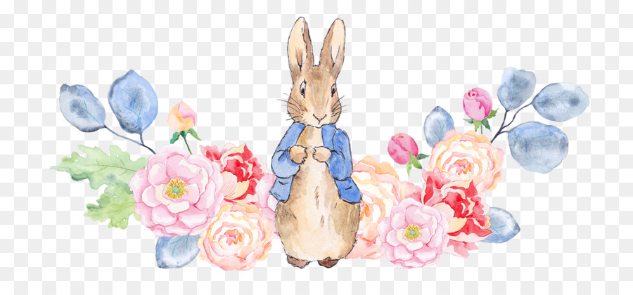 900x420 The Tale Of Peter Rabbit Watercolor Painting Illustration