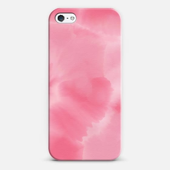 560x560 Modern Pink Ombre Watercolor Background Hand Casetify